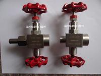 精品J19W-160P DN6 304SS不銹鋼壓力表截止針型閥 J19W-320P