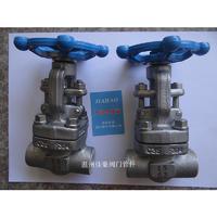 Z61W-PN63 800LB 304SS不銹鋼承插焊閘閥 Z61H-800LB