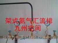 架式氨气汇流排操作  JZ-NH3