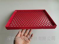 红色耐高温托盘、红色防静电周转盘