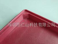 广东工厂防静电耐高温托盘红色塑胶托盘 RST-011