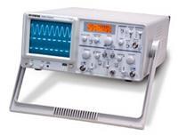 臺灣固緯GOS-630FC雙蹤模擬示波器,30MHz 雙蹤示波器,ALT觸發,液晶屏顯示計頻器及檔位  GOS-630FC