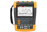 福祿克手持式示波表F190數字示波器采樣率高達 2 GS/s,分辨率高達 400 ps F190