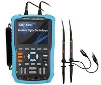 鼎陽SHS820系列手持示波器,2通道,200MHz帶寬,集數字示波器、萬用表和記錄儀于一體,*大提供2Mpts的存儲深度 SHS820