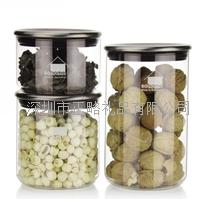 家品三入玻璃密封罐 套装-105 GS404-C