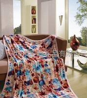富安娜 风姿溢彩法兰绒毯