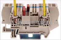 台湾町洋导轨回拉式安装直通式弹簧接线端子 AK16