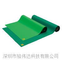 日本VESSEL威威  EPA區域防靜電桌墊(淺綠色) No.LG-100