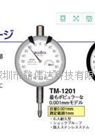 日本TECLOCK得樂千分表TM-1201