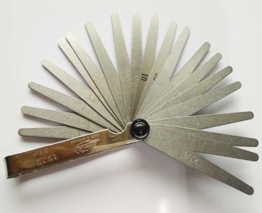 現貨德國Phoenix鳳凰厚薄規25410004厚薄片0.10-2.0mm共20片塞尺