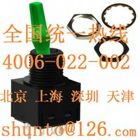 超亮带灯钮子开关型号TL22SNAW016F进口摇头开关日本NKK带灯扭子开关绿色钮子开关 TL22SNAW016F