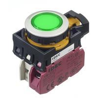 Idec?和泉代理带灯自复位按钮开关 CW4L-M1P10Q4G