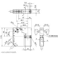 和泉IDEC电磁触点工业安全门锁开关HS6E-L7
