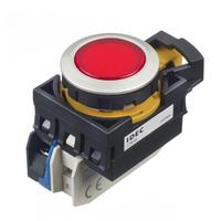 和泉Idec自复位带灯按钮开关CW4L触点YW-E10R  CW4L-M1E10QM4R