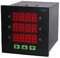 TE单相三数显多功能智能表 三相电压电流表、三相电流电压三数显智能表 三相有功功率