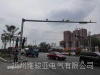 扬州交通警察新款交通信号灯杆