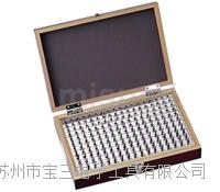 苏州杉本特价日本SK新泻精机钢针规套装PG-00-PLUS