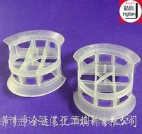 塑料共轭环填料 聚丙烯共轭环 φ25 φ38 φ50 φ76mm塑料共轭环