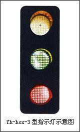 滑触线电压信号灯