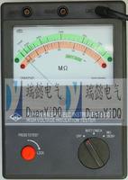 YTC25指针式绝缘电阻测试仪 YTC25