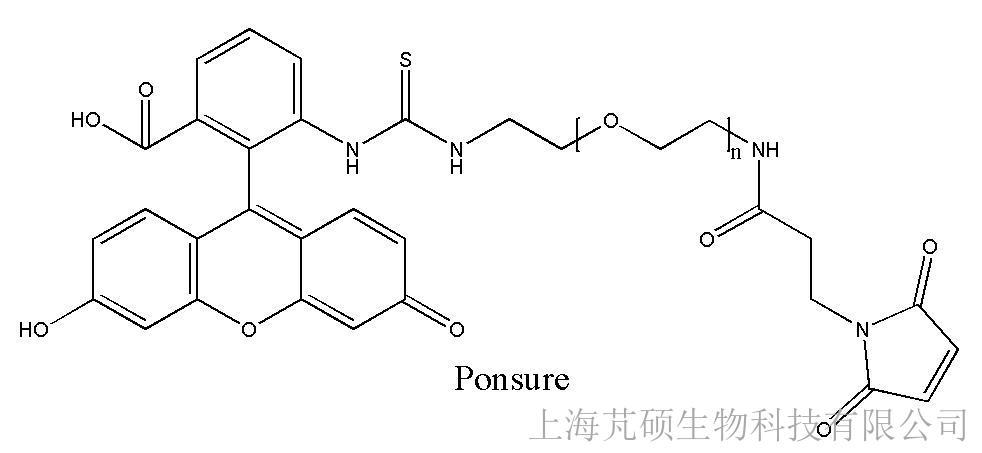 荧光素PEG马来酰亚胺,FITC-PEG-MAL